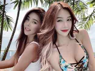 원챔피언십 링걸 한나나와 김지나, 섹시함과 귀여움으로 싱가포르를 저격!