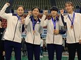 전희숙·윤지수·홍서인·김하은, 女펜싱 월드컵 출전