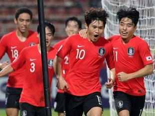 한국, 호주 2-0으로 꺾고 결승행.. '9회 연속 올림픽 진출'