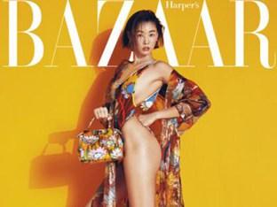 '톱모델의 파격' 한혜진 해변 달구는 수영복 패션