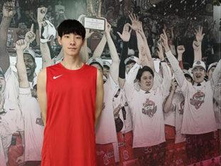 프로농구 유일한 2000년생 SK 김형빈