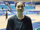 여자농구 최고령 선수 한채진, 20살차 남자 중학생들과 연습경기