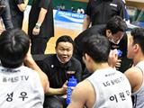 공격 농구 신호탄? 조성원호 LG 첫 경기부터 화력 폭발