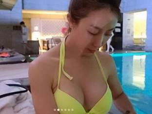 선데이, 결혼 후 더욱 물오른 미모…비키니 자태+S라인 몸매 '시선 강탈'