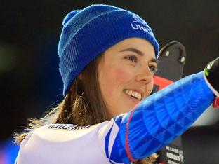 블로바, 월드컵 알파인 스키 또 우승…6일 사이에 3승째