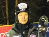 정동현, 스키월드컵 도중 완주 실패
