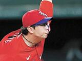 양현종, MLB 선발 데뷔전 3⅓이닝 8K 1실점