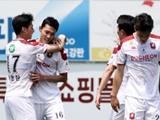 K리그2 최하위 부천, 선두 전남 2-0 제압 이변…시즌 첫 연승