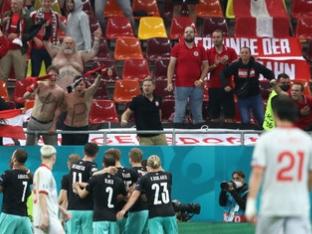 [유로 리뷰] '아르나우토비치 쐐기포' 오스트리아, 북마케도니아 3-1 제압...사상 첫 승!