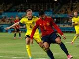 [유로 리뷰] 스페인, '헛심공방' 끝에 스웨덴과 0-0 무
