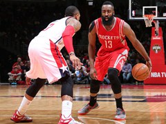 NBA정규시즌  휴스턴 로키츠 99:91 워싱턴 위저즈