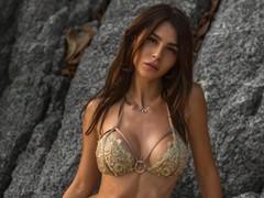 실비아 카루소, 섹시한 몸매