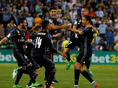 SPA D1 최종전 말라가 CF 0:2 레알 마드리드 CF