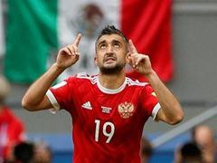 러시아 1:2 멕시코