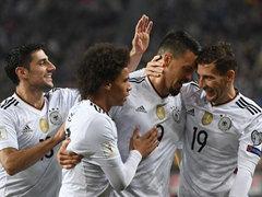 WC 유럽예선 C조 최종전 독일 5:1 아제르바이잔