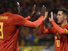 국제 친선경기  벨기에 3:3 멕시코