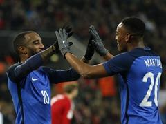 국제 친선경기 독일 2:2 프랑스