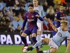 SPA CUP 8강전 셀타 비고 1:1 FC 바르셀로나