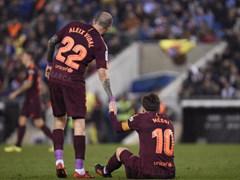 SPA CUP 8강 1차전 RCD 에스파뇰 1:0 FC 바르셀로나