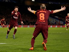 UEFA CL 8강 1차전 첼시 FC 1:1 FC 바르셀로나