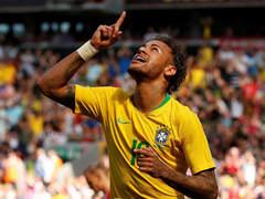 국제 친선경기 브라질 2:0 크로아티아