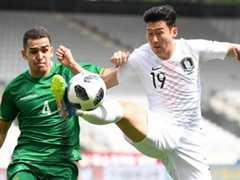 국제 친선경기  한국 0:0 볼리비아