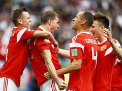 WORLD CUP 개막전 러시아 5:0 사우디아라비아