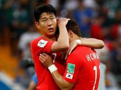 WORLD CUP 조별리그 F조 2차전 한국 1:2 멕시코
