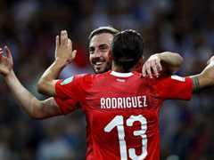 WORLD CUP 조별리그 E조 3차전 스위스 2:2 코스타리카