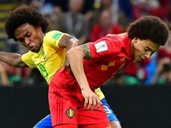 WORLD CUP 8강전  브라질 1:2 벨기에