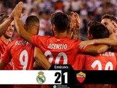 GICC 레알 마드리드 CF(N) 2:1 AS 로마