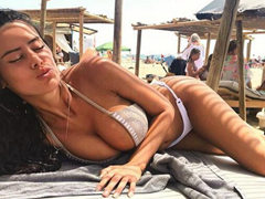 섹시한 스페인 슈퍼 모델 Eva