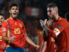 UEFA NL 4조 2라운드 스페인 6:0 크로아티아