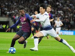 UEFA CL B조 2차전 토트넘 홋스퍼 FC 2:4 FC 바르셀로나