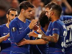 UEFA EL L조 2차전 첼시 FC 1:0 비데오톤 FC