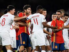 UEFA NL 4조 스페인 2:3 잉글랜드