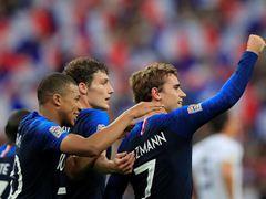 UEFA NL A조 프랑스 2:1 독일
