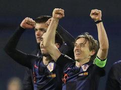 UEFA NL 4조 3차전 크로아티아 3:2 스페인