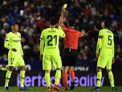SPA CUP  16강 1차전 레반테 UD 2:1 FC 바르셀로나