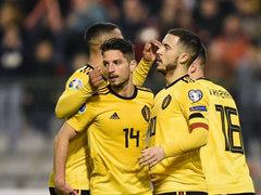 UEFA EURO I조 1차전 벨기에 3:1 러시아