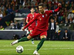 UEFA NL 준결승전 포르투갈 3:1 스위스