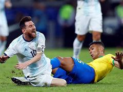 AMEC 4강전 브라질 2:0 아르헨티나