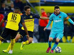 UEFA CL 보루시아 도르트문트 0:0 FC 바르셀로나