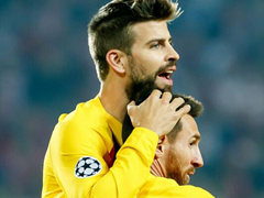 UEFA CL F조 3차전 SK 슬라비아 프라하 1:2 FC 바르셀로나