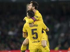 SPA D1 23R 레알 베티스 2:3 바르셀로나