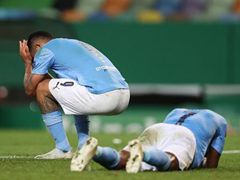 UEFA CL 8강전 맨체스터 시티 1:3 올랭피크 리옹