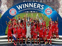 UEFA CL 결승전 파리 생제르맹 0:1 바이에른 뮌헨