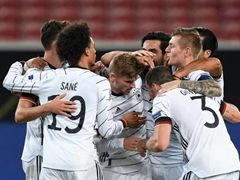 UEFA NL 4조 1R 독일 1:1 스페인