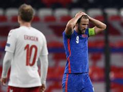 UEFA NL 2조 4차전 잉글랜드 0:1 덴마크