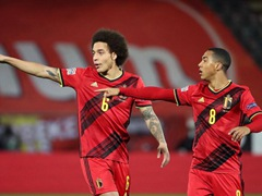 UEFA NL 리그A 2조 5차 벨기에 2:0 잉글랜드
